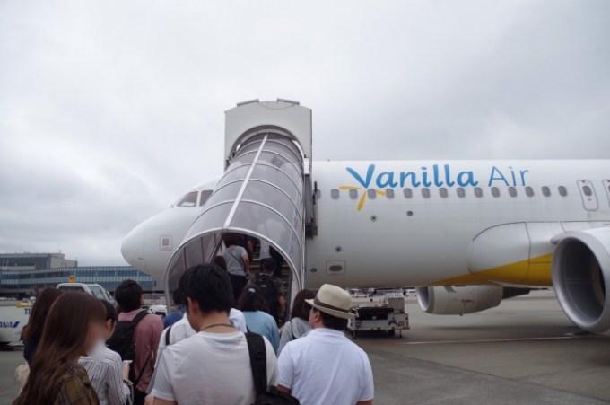 バニラエアの機体