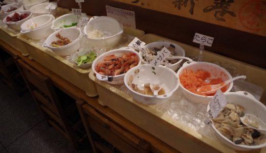激安!札幌駅前海鮮丼ランチバイキング880円 ヤマイチ根室食堂札幌JR店