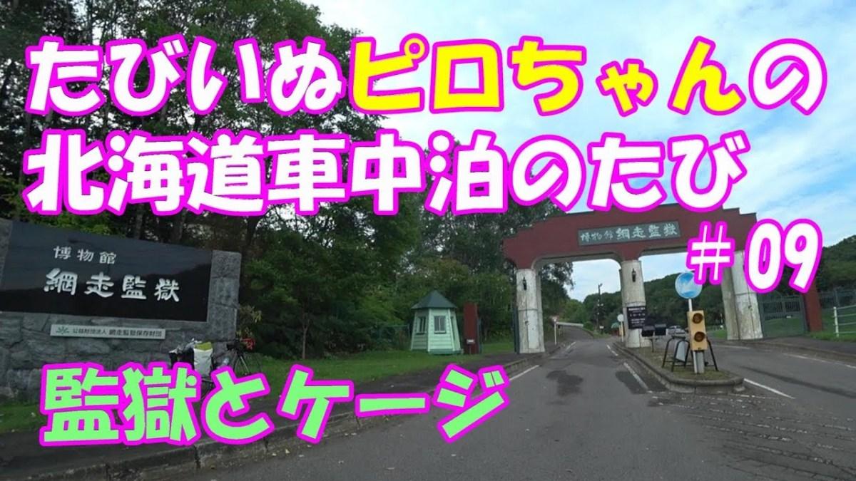 たびいぬピロちゃんの北海道車中泊の旅2018 #09
