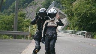ZX14R/R-1/Buell12Scg美人ライダーと行く中部北陸バイク旅