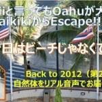 【オアフ島旅行】HAWAIIでもオアフだけ大好き家族の旅行記_BackTo2012(第2弾)