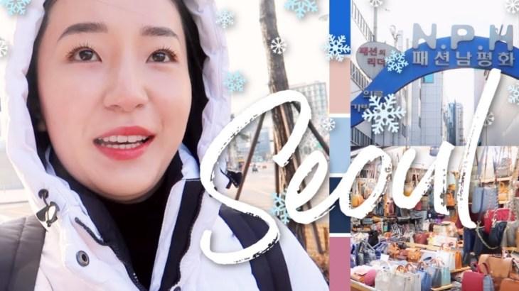 【韓国旅行】東大門市場はファッションの宝庫!南平和市場(N.P.H)でお買い物