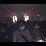 【Insta 360 one X AirPlane】フランス旅行の機内で360度カメラを使って撮影