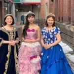 北海道函館 家族旅行 プリンセス体験 素敵にドレスアップしてフォトジェニック