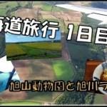 【国内旅行:北海道♯1】1日目旭山動物園と旭川ラーメン(絶品)高松空港から羽田空港乗り継ぎ旭川空港2泊3日の旅Traveling to Japan in Hokkaido AsahiyamaZoo