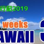 ハワイ旅行記2019#3:朝の散歩とファーマーズマーケット、美味しいアヒポキ丼