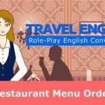 【海外旅行英会話】レストラン注文の英会話★Travel English conversation : Restaurant Order ★