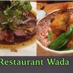 【ハワイ旅行・グルメ】ホノルルでおいしい日本食レストランWada   Hawaii Japanese food restaurant Wada