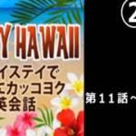 ハワイ旅行に必須の英会話②これだけ聞いておけば何とかなる。