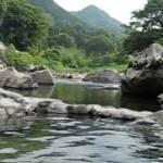 奥出雲の名湯 出雲湯村温泉 河原の露天風呂 島根県 雲南市