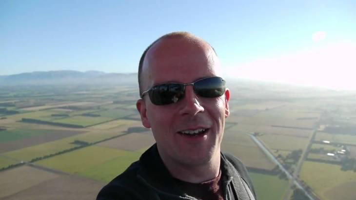 ニュージーランド旅行英会話:熱気球は英語で?