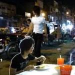 バンコクの女の子と飯!Thai girl, Bangkok food restaurant, パキスタン旅行D0 Pakistan travel