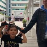 【春休み母子海外旅行11日間⑤】香港の大学内で飲茶♡フラワーマーケットロードでお花に癒される♡金魚街は子連れおすすめ!香港スタイルミルクティとパイナップルパン食べました!