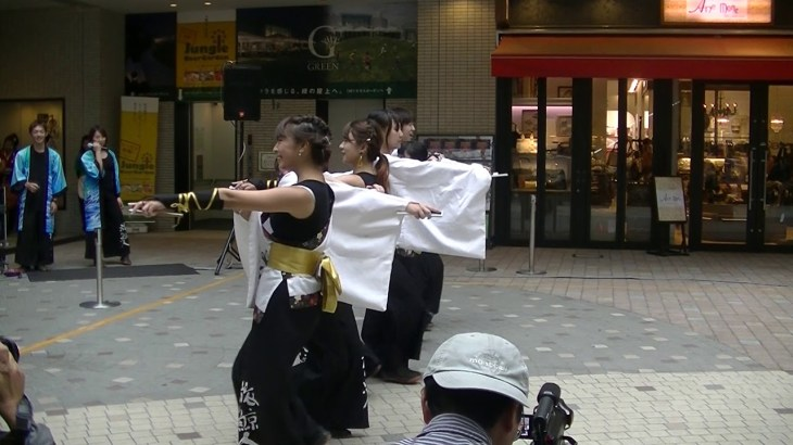 第2回YOSAKOI高松祭り 高知学生 旅鯨人