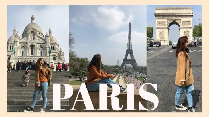 3DAYS IN PARIS 初めてのパリ旅行(エッフェル塔/マカロン/モンマルトル/買い物)