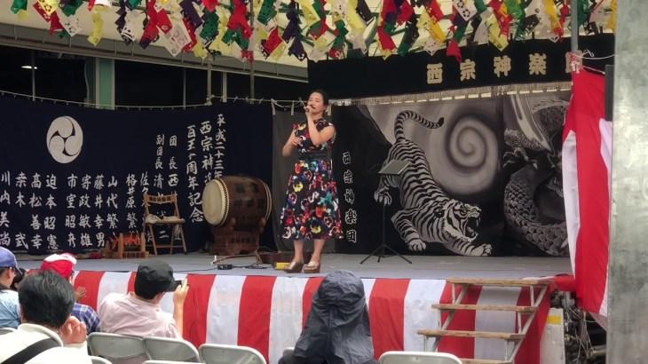 広島ネスト祭りへシンガーソングライターSeaさんに逢いに