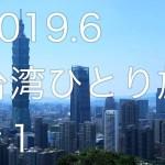 【台湾ひとり旅2019.6】#1  台北/金峰魯肉飯、中正紀念堂、淡水