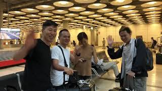 『海外旅行』マドリード到着 川島和正さん主催の川島塾のセミナー参加する為に来ました