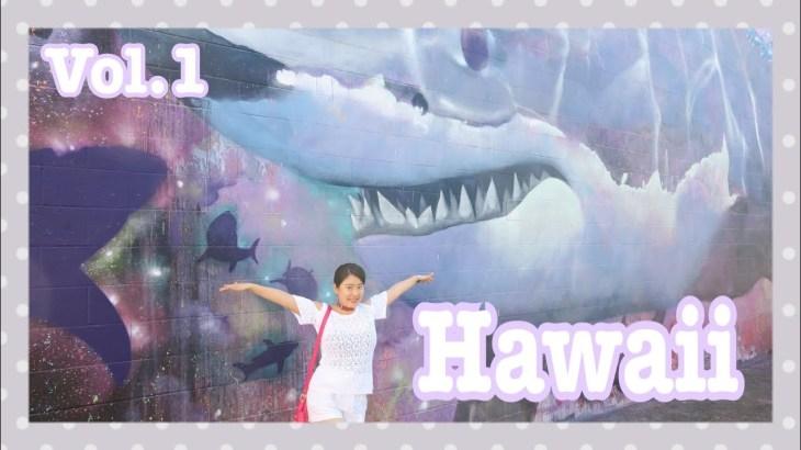 【ハワイ①】大人旅行!年末年始のハワイ、グルメにアラモアナでショッピング!