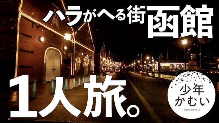 【北海道1日目】1人旅。函館グルメ食べまくり。キャンプ前乗り