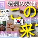 【韓国旅行】明洞 観光地の次は? 最新住宅街は お洒落なカフェ通り韓国グルメも味わえる この街もどうですか