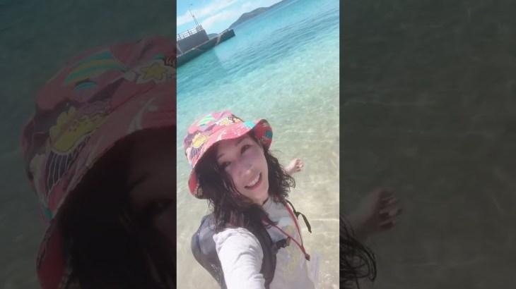 誰もいない無人島の海🥰ひとり旅動画公開中!