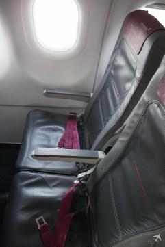 Eurowings Sitzreihe A319