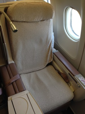 Turkish Airlines Business Class Sitze