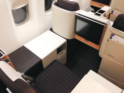 Swiss Boeing 777 Business Class Einzelsitz
