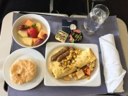 United Airlines Domestic First Class Hauptgericht