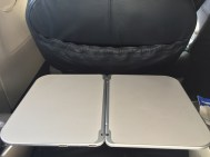 United Airlines Domestic First Class Tablett