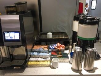 United Club Chicago Kaffee