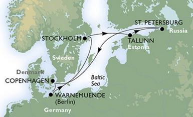 Kreuzfahrt durch das Baltikum