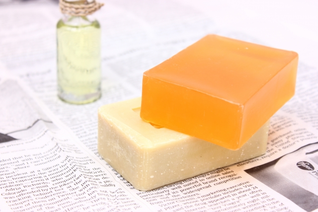 石鹸 溶け 防止