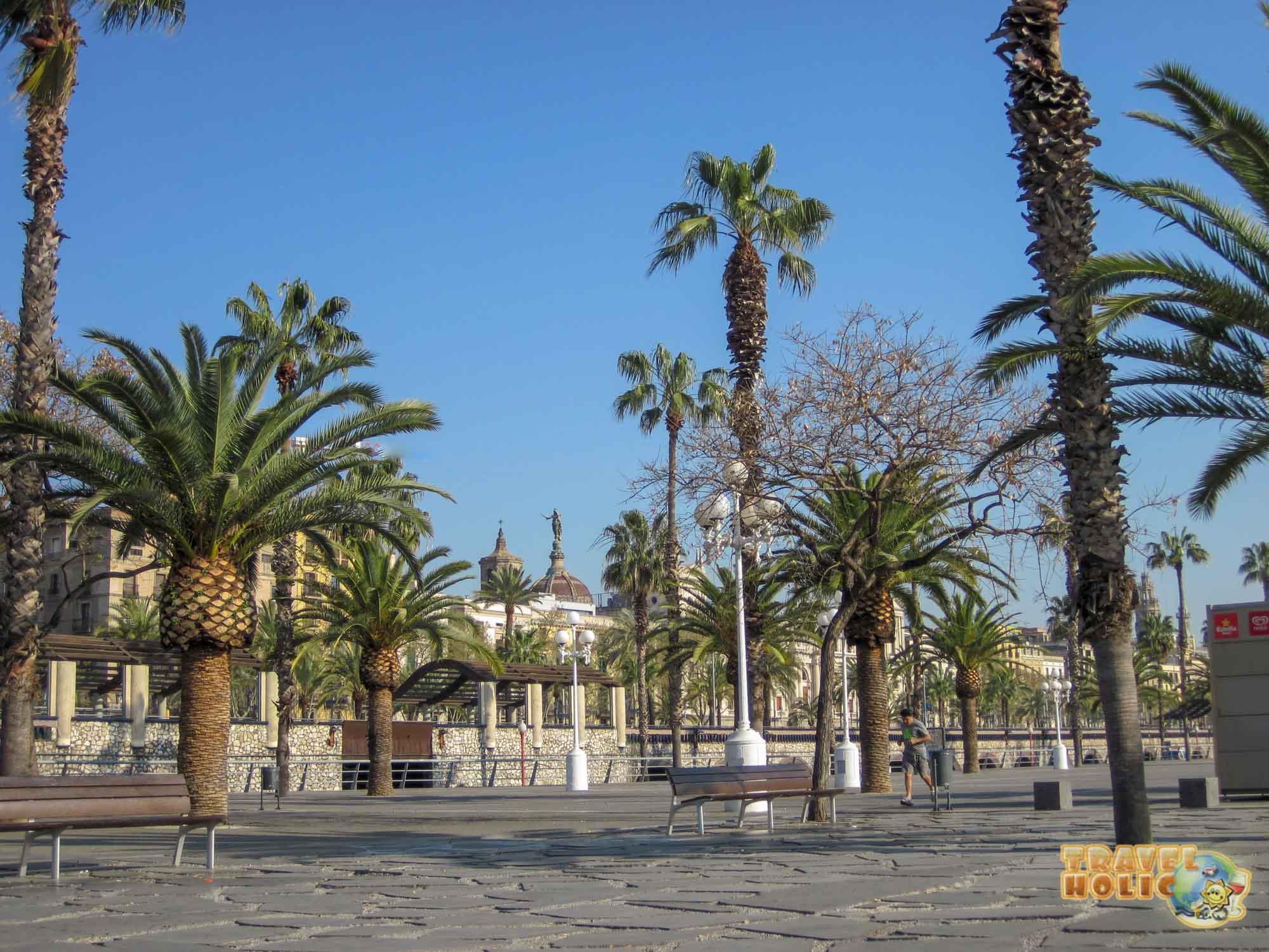 Une rue à Barcelone