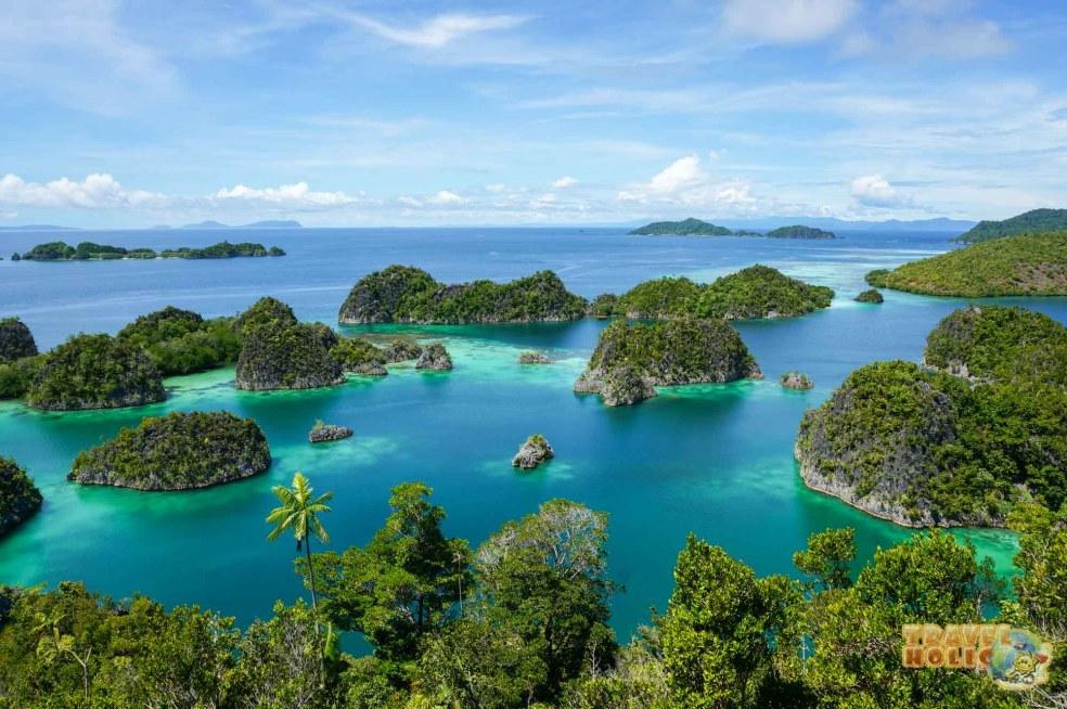 Ile de Penemu, Raja Ampat, Indonésie