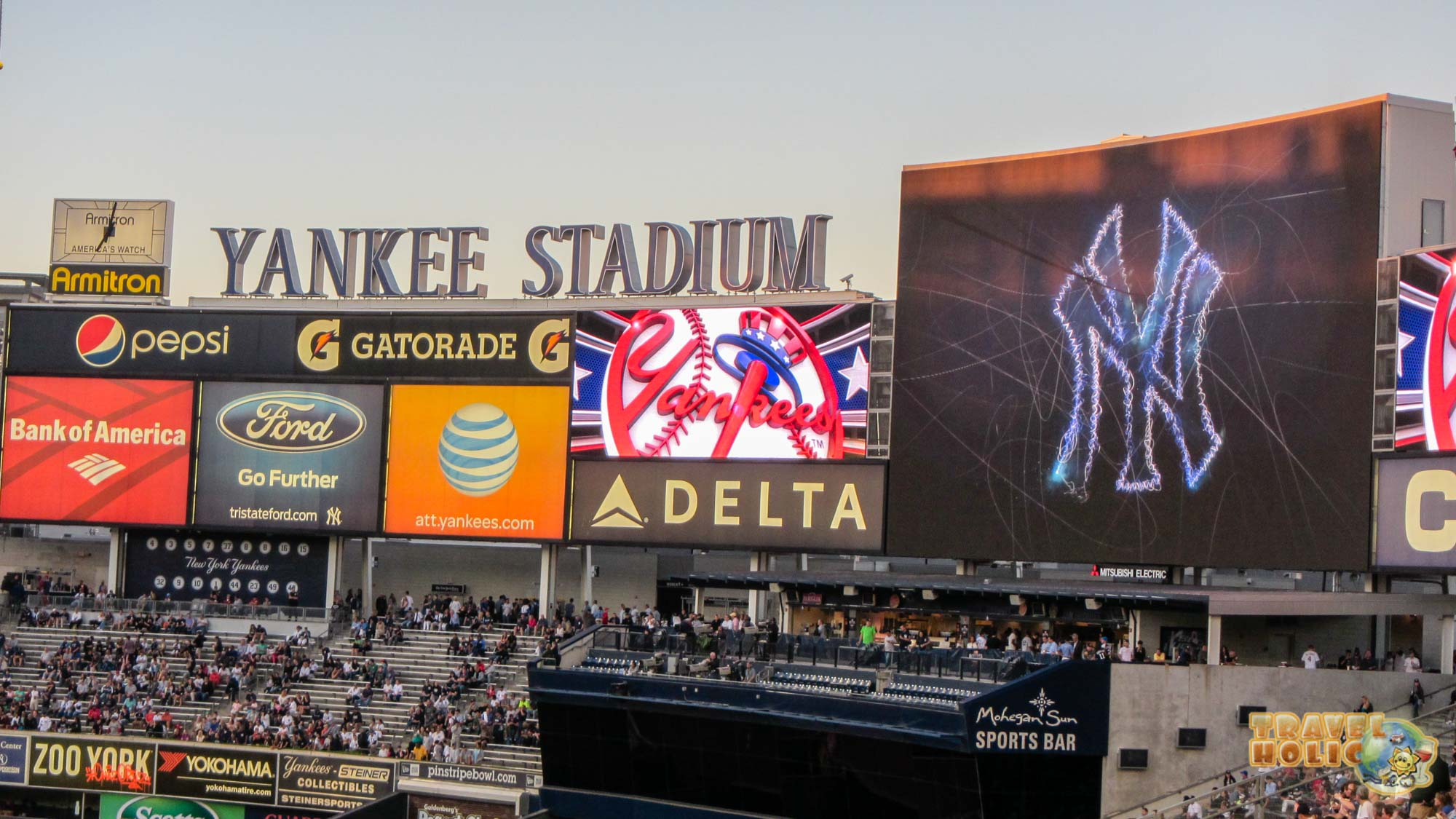 Match de baseball des Yankee