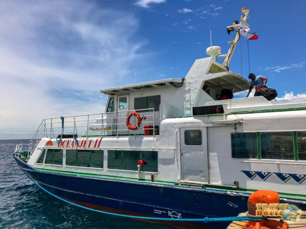 Ferry d'OceanJet aux Philippines