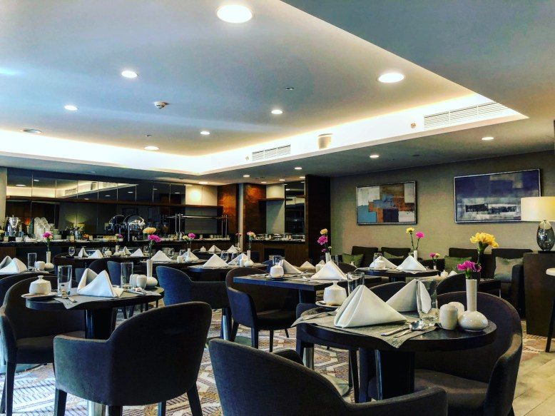 Executive Lounge DoubleTree by Hilton Warsaw