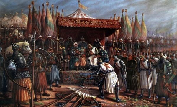 пленные крестоносцы