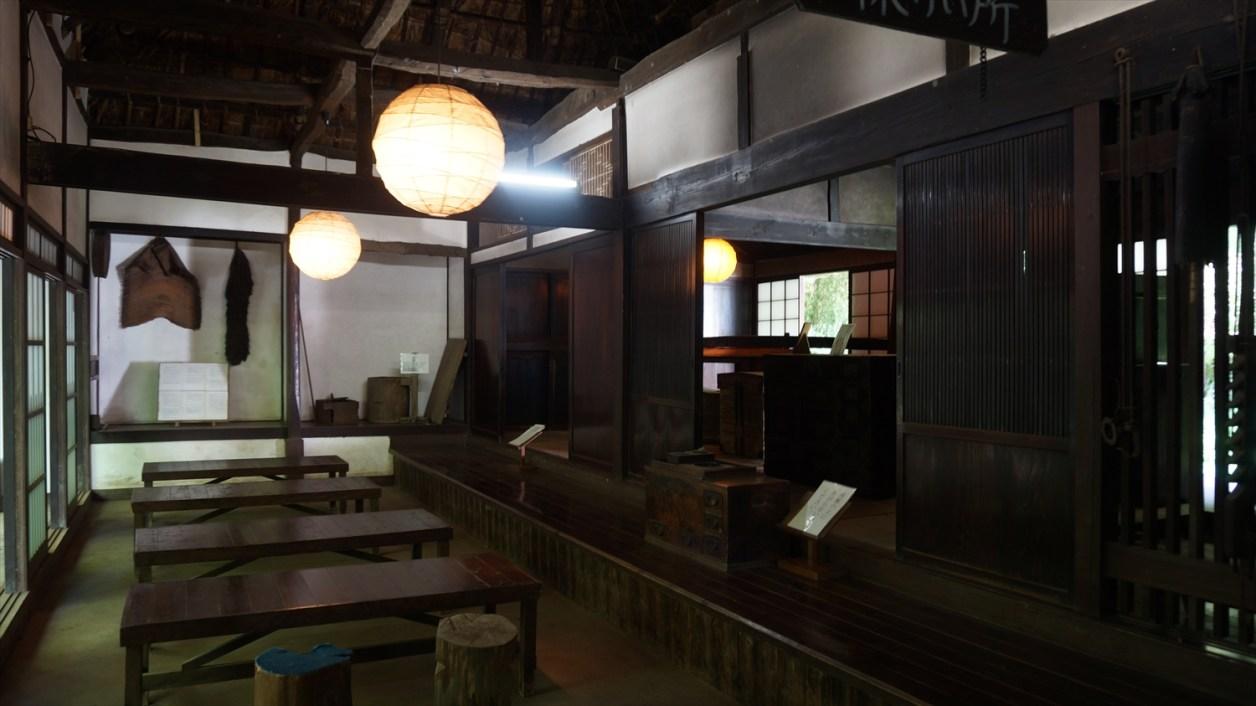 箱根旧街道休憩所の中