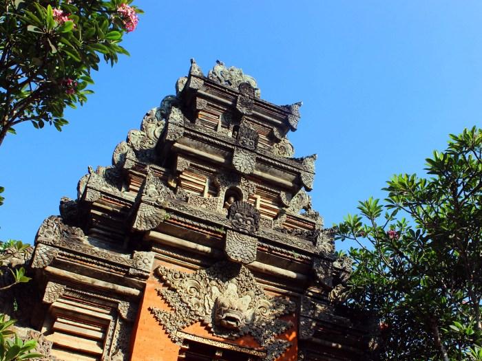 Balinese temple - Ubud, Bali, Indonesia