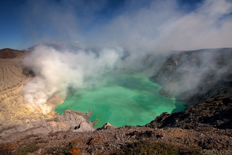 Mount Ijen - 10 Places to Visit in Indonesia