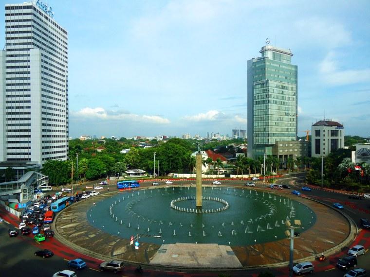 Jakarta fountain