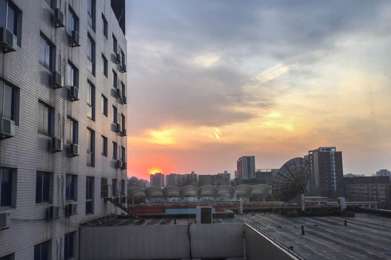 sunset beijing china - Travel Lush