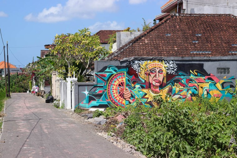 Where to Find Street Art in Canggu, Bali - Travel Lush