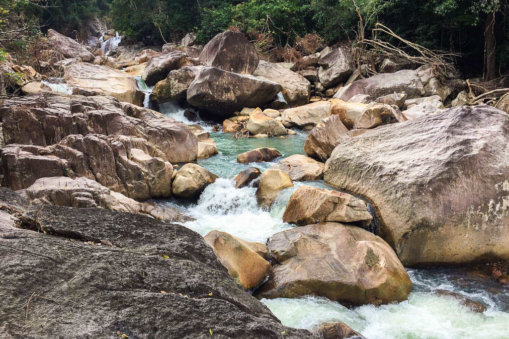 Ba Ho Waterfall - Nha Trang, Vietnam