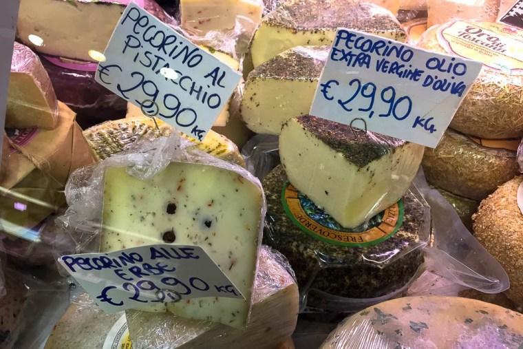 pecorino cheese in florence