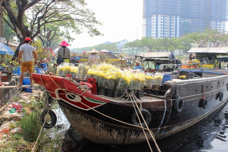Binh Dong Floating Flower Market.Why Celebrating Tet In Saigon Is Kind Of Amazing Travel Lush