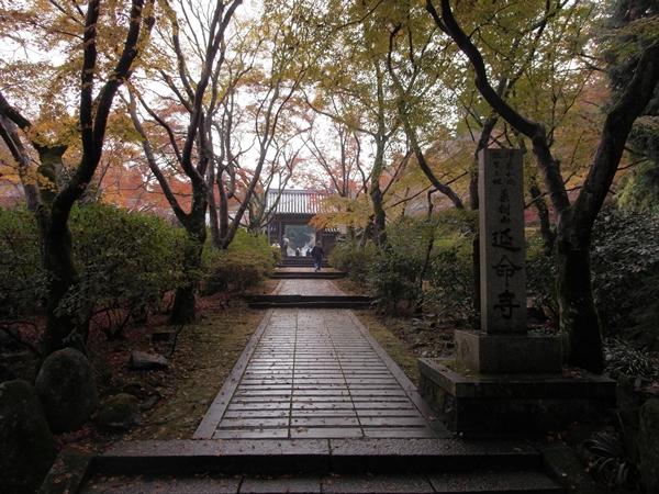 延命寺と山門